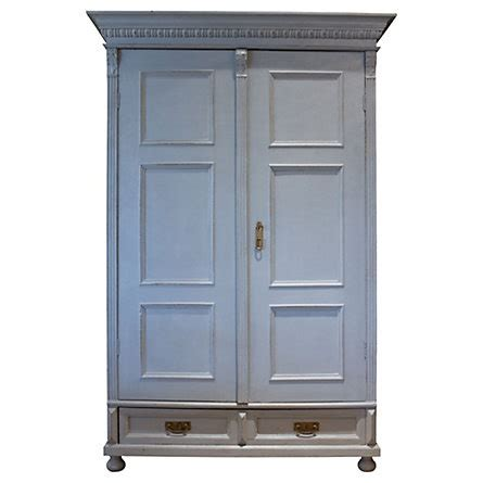 Grey Armoire Wardrobe Painted Gray Armoire
