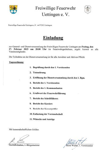 Muster Einladung Hauptversammlung einladung hauptversammlung verein sofiatraffic info