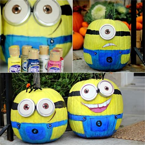 Minions Decoration by Despicable Me Minion Pumpkin Painting Images