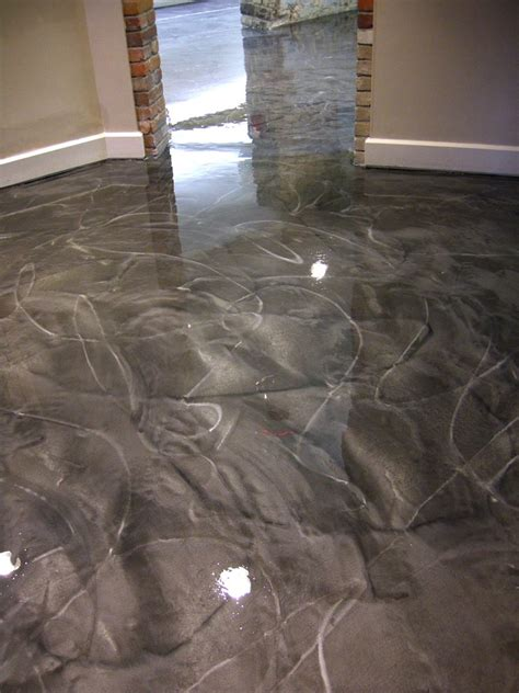 Epoxy Floor Covering Metallic Epoxy