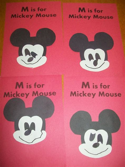 mickey mouse craft projects m is for mickey mouse craft ideas