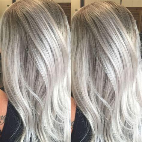 silver blonde hair color silver blonde hair color hair color inspiration concrete