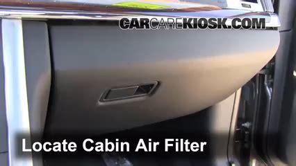 cabin filter replacement lincoln mks 2009 2016 2011 lincoln mks 3 7l v6