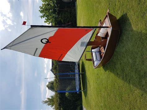 bootje optimist optimist zeilboot en roeiboot compleet tweedehands en