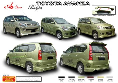 Bodykit All New Avansa Toms new toyota avanza 2009 modification a photo on flickriver