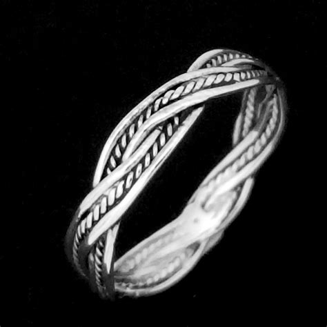 Product Review Twisted Silver by Twisted Silver Rope Ring Silver Surfers