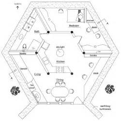 hexagon house plans polygonal hexagonal etc earthbag house plans