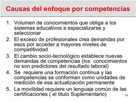 Modelos Curriculares Por Competencias Las Competencias Como Enfoque Curricular En El Nuevo Modelo De Educac