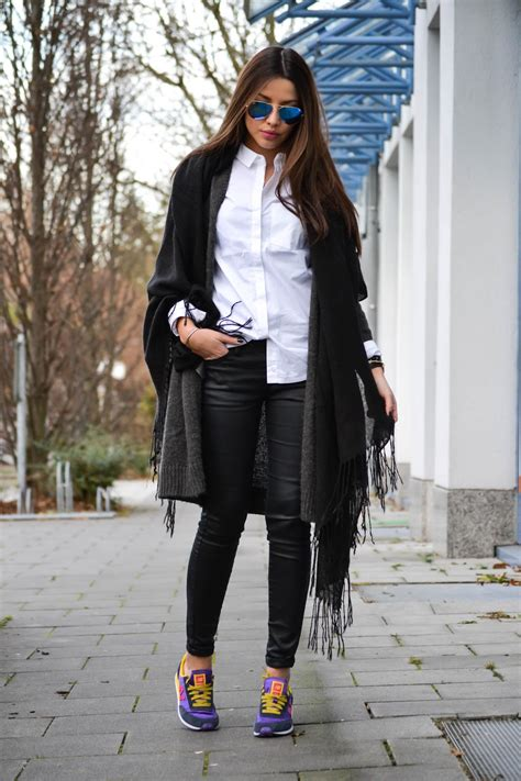 Hm Shark Check Shawl how to wear the oversized scarf trend scarf ideas just the design