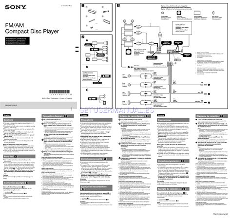 sony cdx gt57up wiring diagram wiring diagram manual