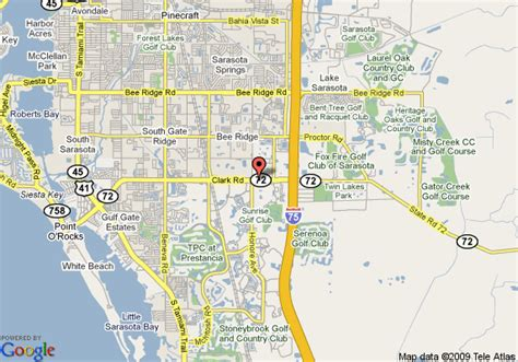 sarasota map map of sarasota fl days inn sarasota