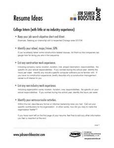 Great Objectives To Put On A Resume by Resume Objectives Exles Resume Sles