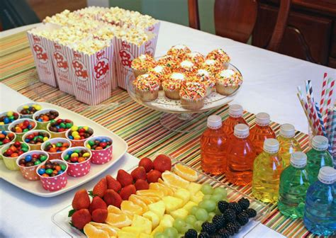 party themes with food wedding snacks for reception and here s our birthday