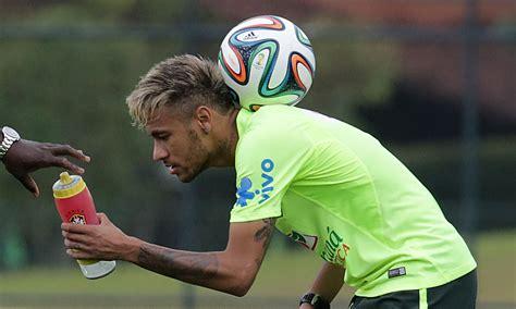 neymat blond world cup diary brazil s golden boy neymar shows blond