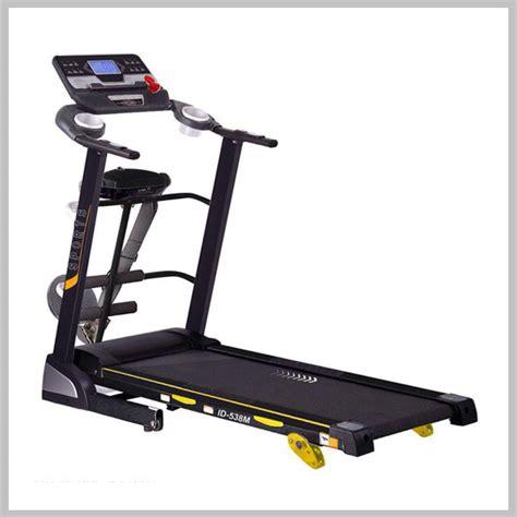 Alat Fitnes Treadmill Elektrik Id 538 M 1 Manual Incline jual alat fitnes treadmill di ciamis pembayaran ditempat