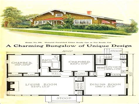 Craftsman Style Bungalow Floor Plans by Small Craftsman Bungalow House Plans Small Craftsman Homes