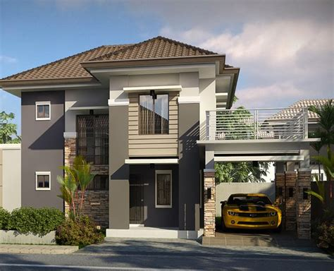 Pinoy Interior Home Design Striking Collection Of 15 Houses With Terrace Home