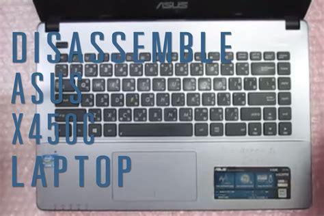 Asus X450c 1 how to take apart disassemble asus x450c laptop funnydog tv