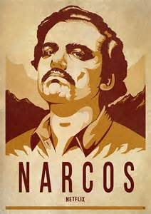 narcos poster artwork domestika