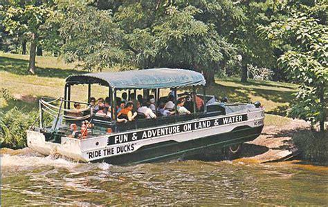 duck boat rides wisconsin dells postcard gems wisconsin dells duck boat hibious truck