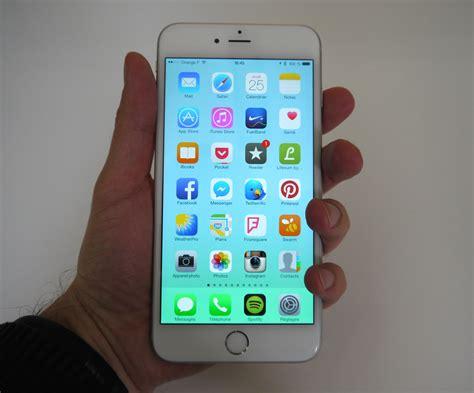 test iphone 6 plus l iphone une taille au dessus