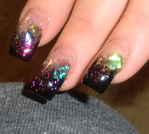 nail art glitter tips tutorial 15 acrylic nail designs and ideas that will blow your mind