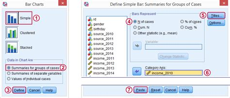 spss easy tutorial spss bar charts tutorial