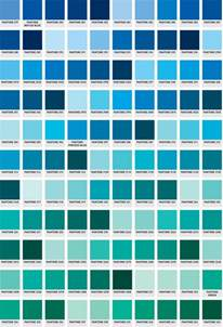 pantone color blue pantone color chart