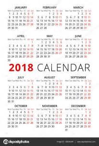 Calendario 2018 Semana Santa A 241 O 2018 Estilo Simple Texto Calendario La Semana Empieza