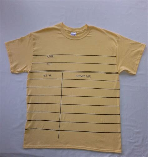 Card T Shirt library check out card t shirts library shenanigans