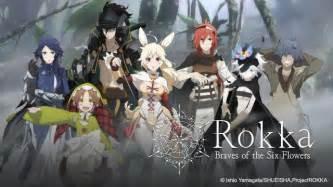 rokka no yuusha rokka no yuusha a anime with a twist