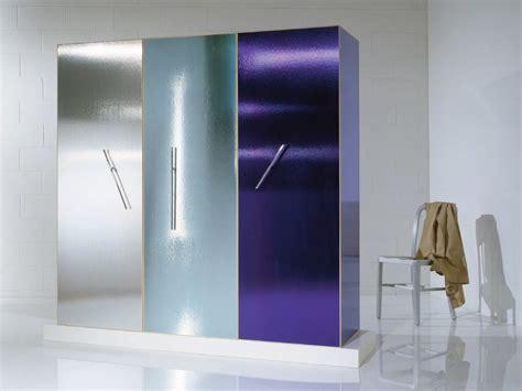Frosted Glass Wardrobe by Wardrobe By Oak Industria Arredamenti Design Ettore