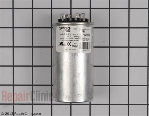dual capacitor for heat pumps dual capacitor for heat pumps 28 images mars heat dual run capacitor c36075r repairclinic