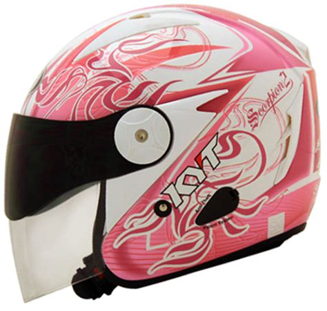 Helm Nhk Scorpion Daftar Harga Terbaru Helm Kyt Half Safety