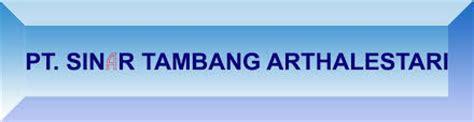 Nama Dada Logo Sinar profil perusahaan sinar tambang arthalestari pt qerja