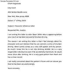 Child Custody Letter Template by Character Reference Letter For Court Child Custody