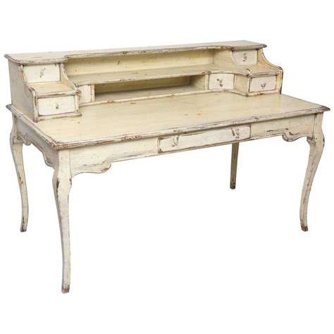 Country Desk by Large Painted Country Desk At 1stdibs