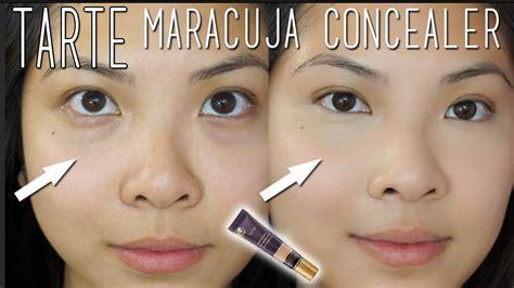 tarte maracuja creaseless concealer light medium sand tarte maracuja creaseless concealer review and demo youtube