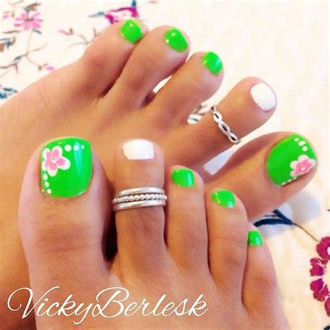 spring pattern nails 10 spring toe nail art designs ideas trends stickers