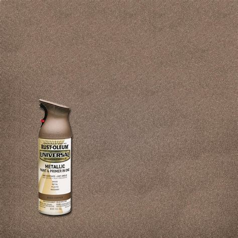 home depot spray paint age rust oleum universal 11 oz all surface metallic aged