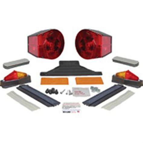 dry launch boat trailer lights dry launch wraparound lighting kit 145455 trailer