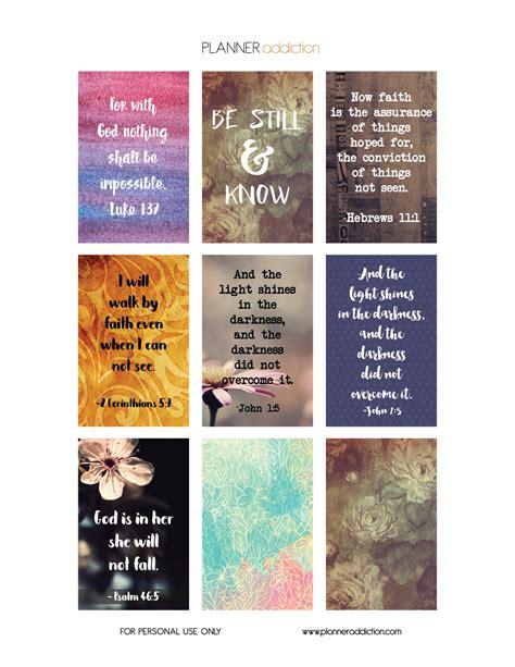 printable bible stickers bible scripture planner addiction