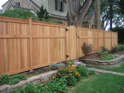 fence for backyard full height for sides and back lower