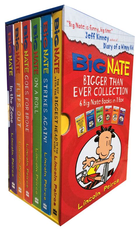 big nate book pictures big nate series collection lincoln peirce 6 books box set