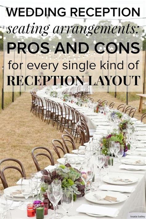 layout of wedding party wedding reception seating arrangements pros and cons for