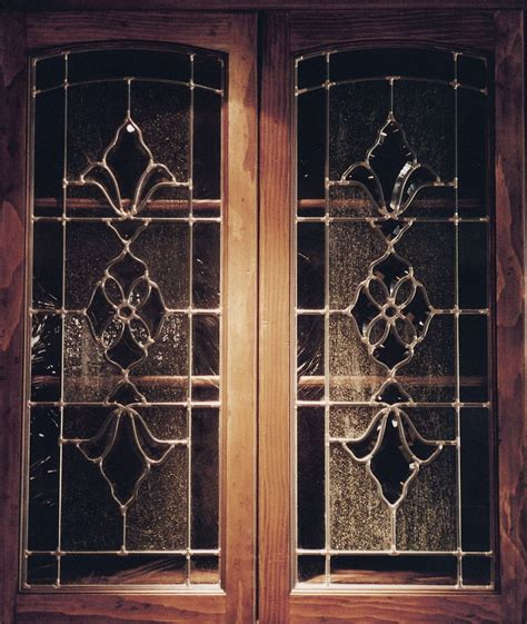 beveled glass leaded glass cabinet glass inserts