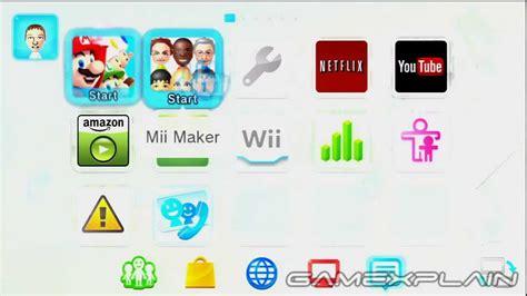 u home wii u os notifications switching home screen between tv