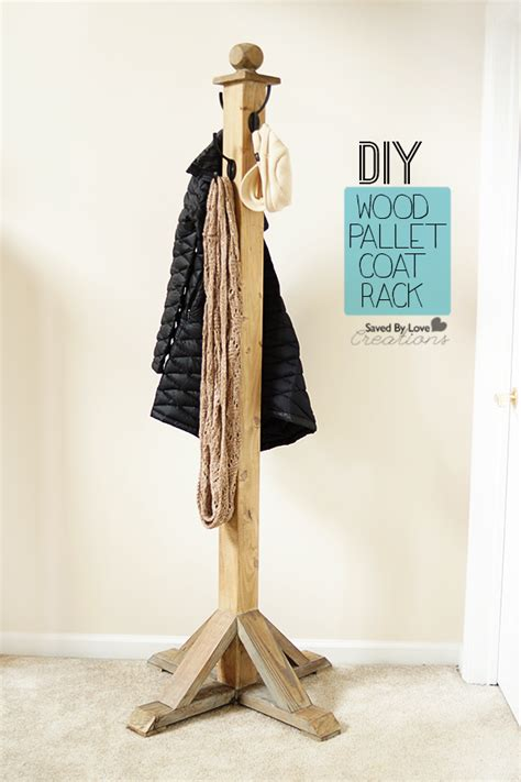 diy wood pallet coat rack