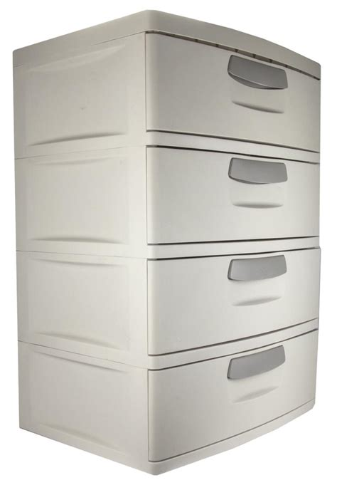 Sterilite Dresser sterilite 01748501 heavy duty 4 drawer cabinet unit garage