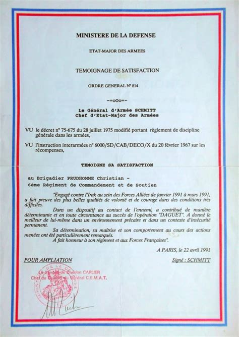 Lettre De Felicitation Ecole Brevet Militaire Certificat Technique Lettres De F 201 Licitations Christian 201 Tait Un Soldat